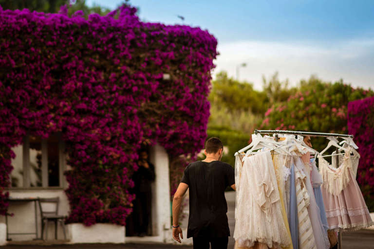 Nella Ioannou Haute Couture ss2016 at Island Athens Riviera Making of PhotoStories Stories